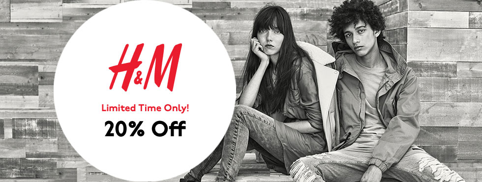 H&m Discount In Store
