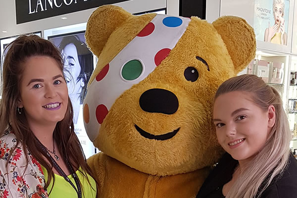 Where oh where is Pudsey Bear?!