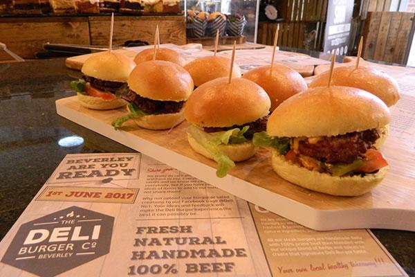 Deli No.1 sets Burger Challenge for Beverley businesses