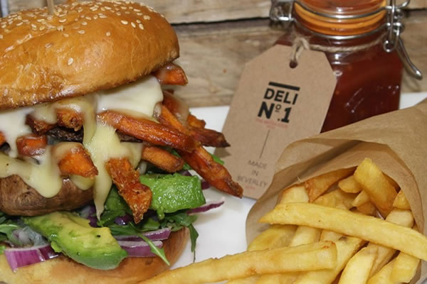 Delicious Deli No.1 serves up new burger and cocktail menu