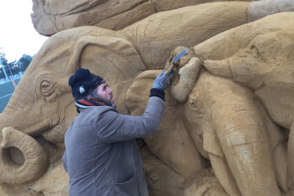Spectacular sand sculpture trail begins at Flemingate
