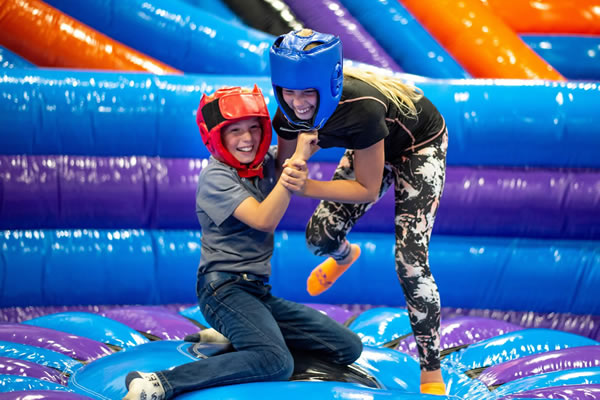 Inflata Nation adds bounce to buoyant Flemingate