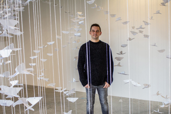 1,000 Origami Doves of Peace Project by The Creative Lab