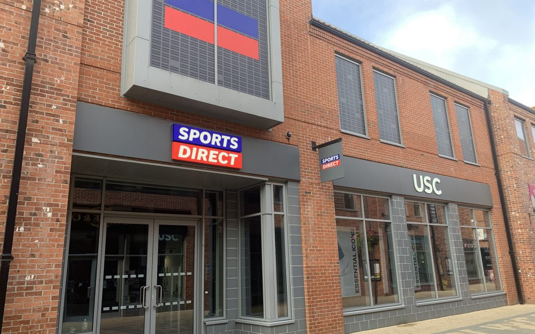 Sports Direct and USC to open at Flemingate this week